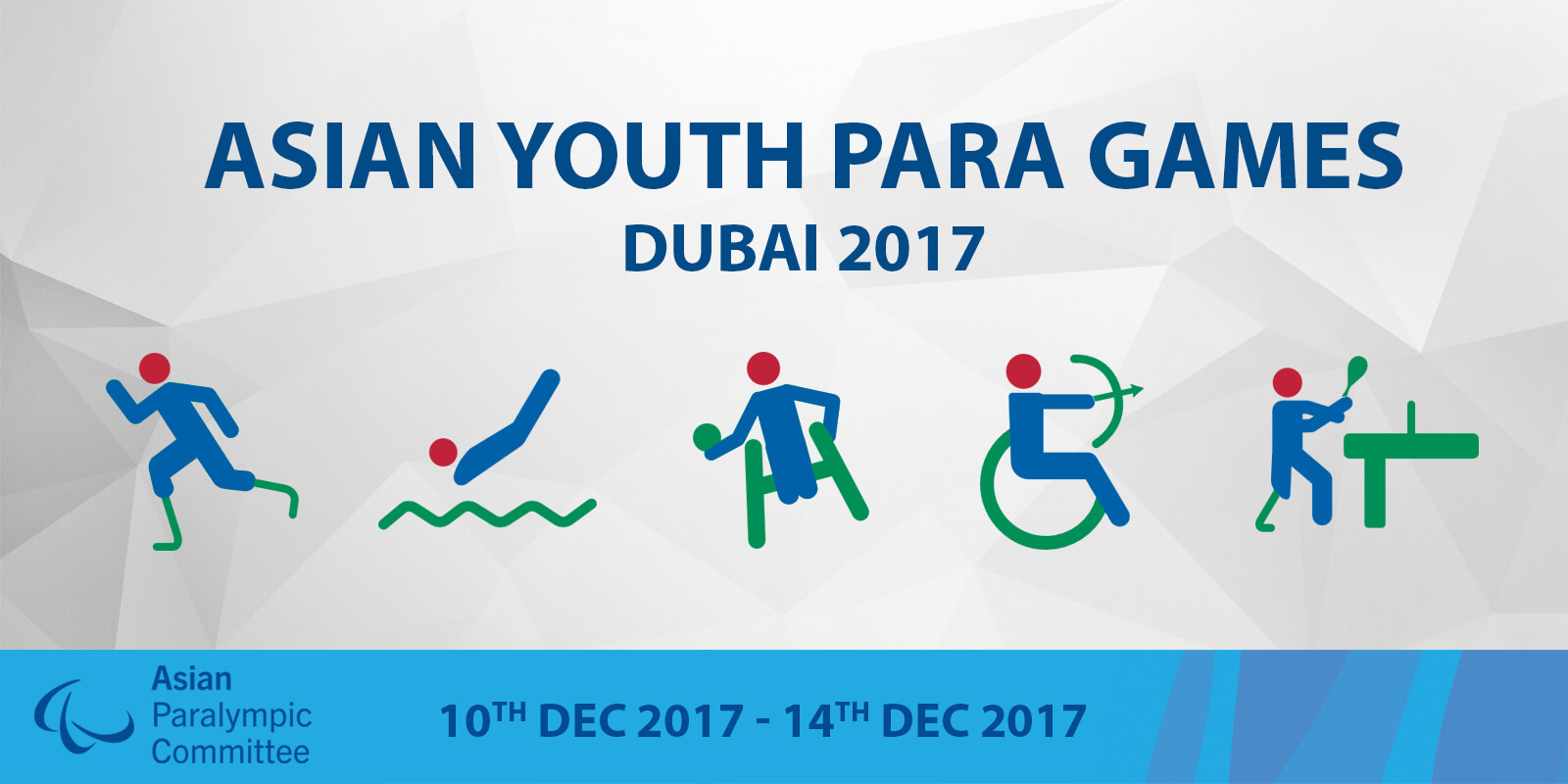 DUBAI 2017 ASIAN YOUTH PARA GAMES